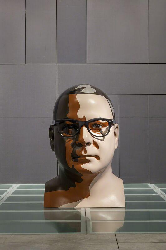 Julian Opie, 'Reed 1', 2012, Sculpture, Paint on resin, Galeria Mário Sequeira
