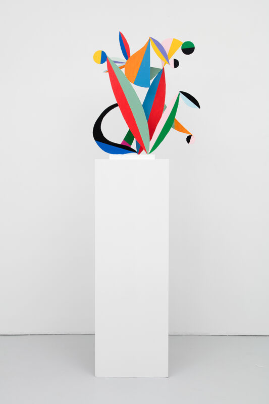 Nathan Carter, 'Full color spectrum communication blossom router signature Essex on the Tyne', 2015, Sculpture, Steel, acrylic and enamel paint, Casey Kaplan