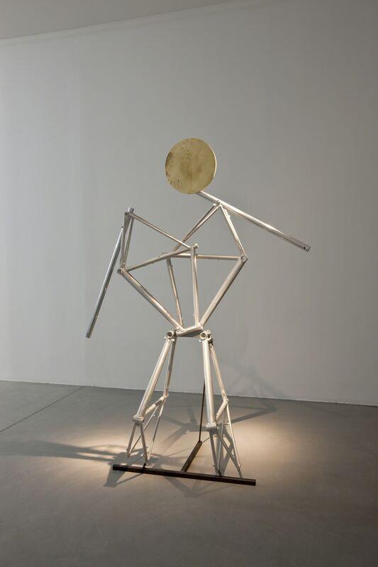Riccardo Previdi, 'Ciao', 2012, Sculpture, Bicycle frames, wood, Francesca Minini