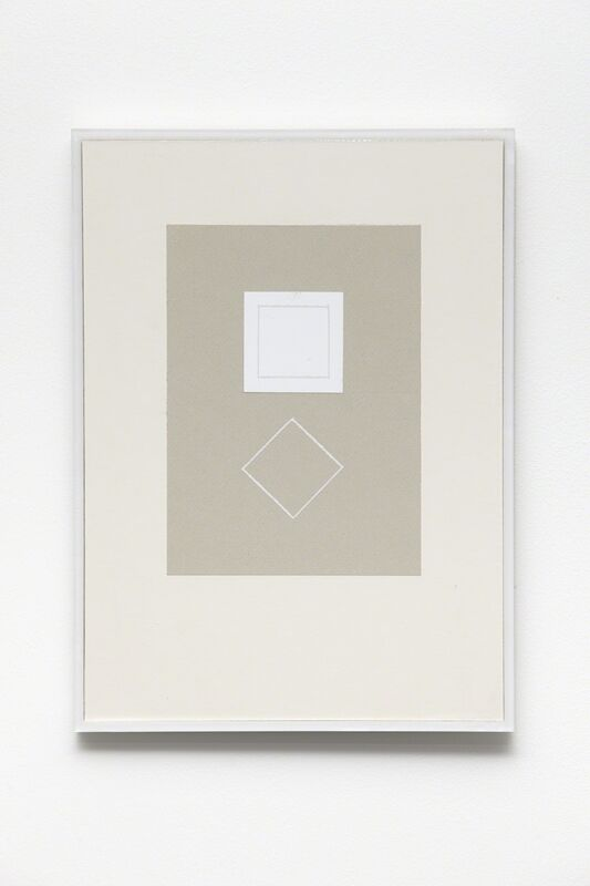 Kristján Gudmundsson, 'Cause and consequence no. 5', 1974-1975, Drawing, Collage or other Work on Paper, Correction paper, cardboard, i8 Gallery