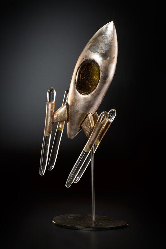 Rik Allen, 'VALENCI FOUR', 2015, Sculpture, Glass and mixed media, Traver Gallery