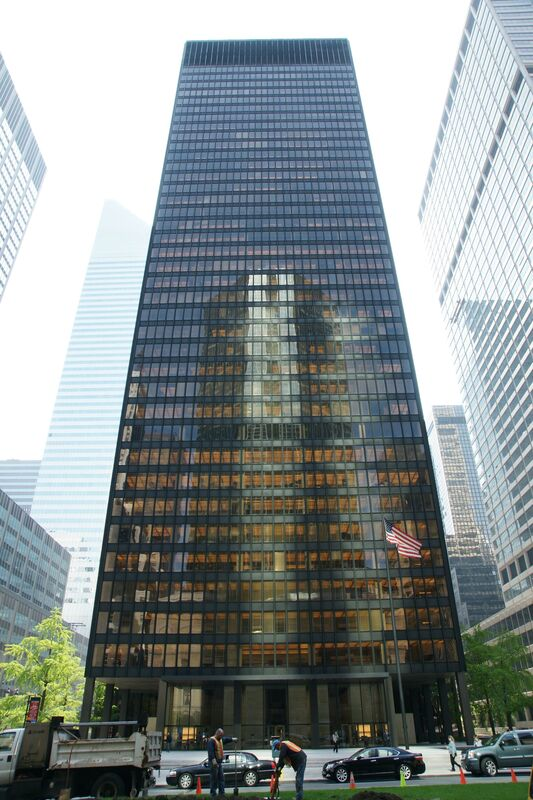 Ludwig Mies van der Rohe, 'Seagram Building', 1954-1958, Architecture, Art History 101