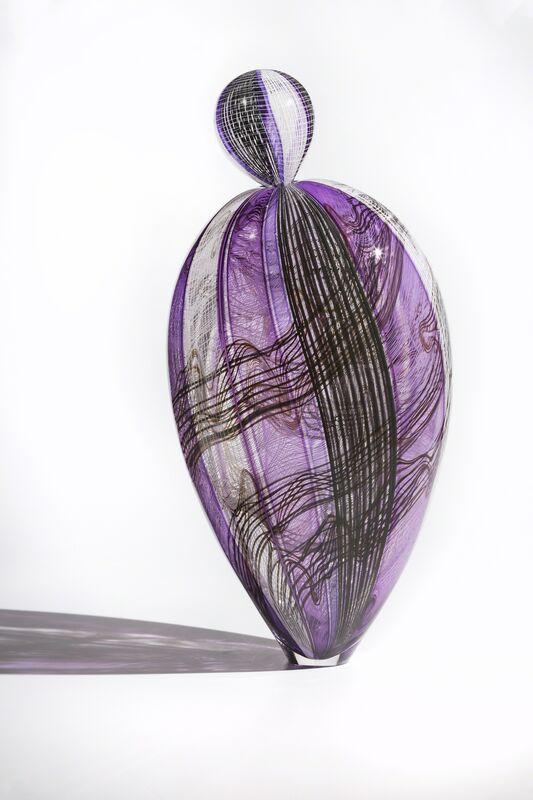 Nancy Callan, 'Paisley Park Paloma', 2017, Sculpture, Blown Glass, Duane Reed Gallery