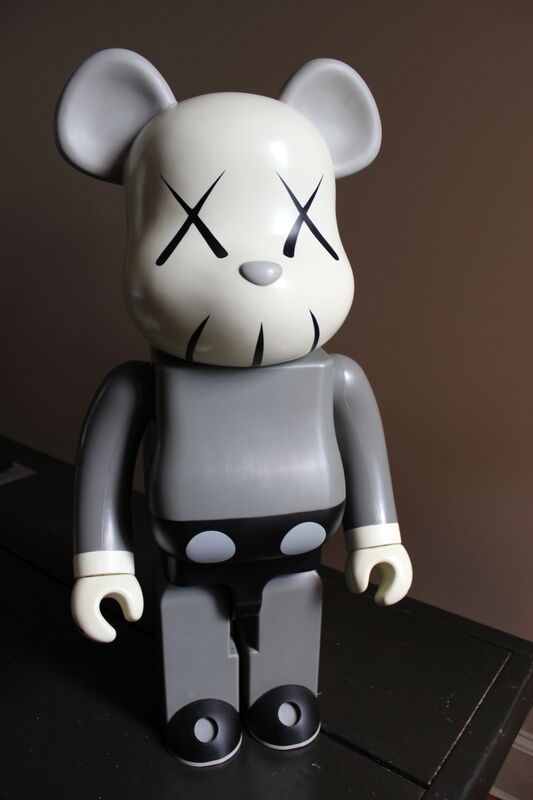 KAWS, '1000% Gray Bearbrick', ca. 2002, Sculpture, Plastic, EHC Fine Art