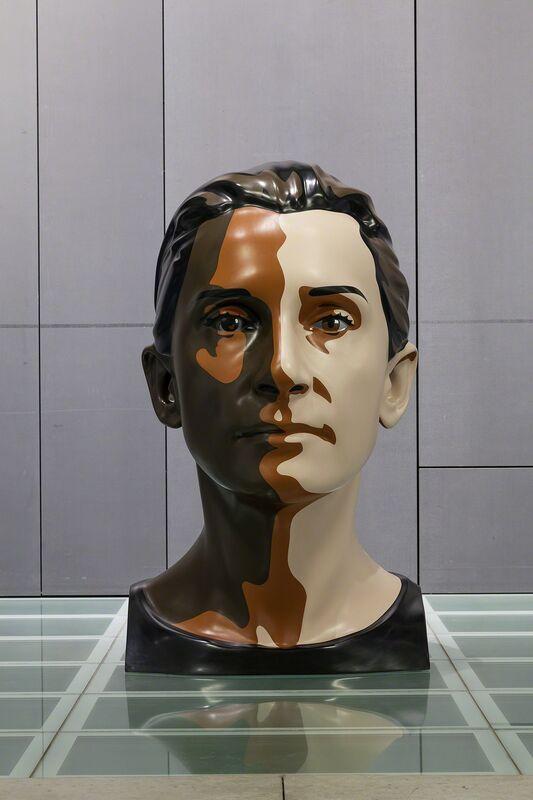 Julian Opie, 'Delphine 1', 2012, Sculpture, Paint on resin, Galeria Mário Sequeira