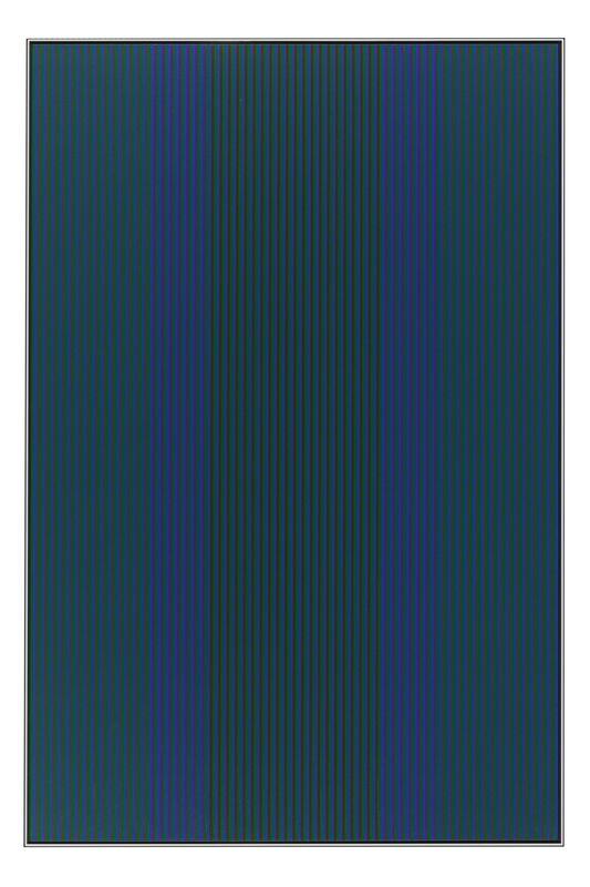 Karl Benjamin, '#12, 1980', 1980, Painting, Oil on canvas, Brian Gross Fine Art
