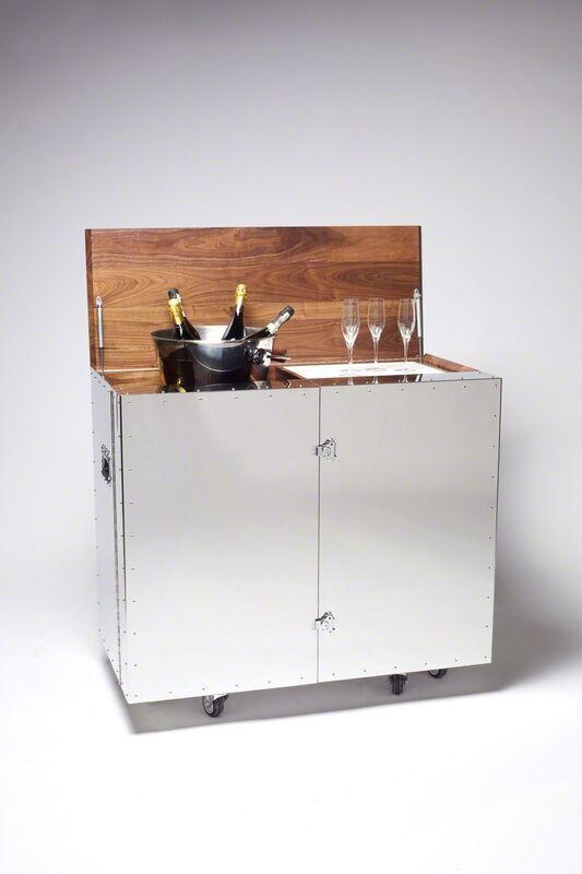 Naihan Li, 'Bar', 2014, Design/Decorative Art, Black Walnut, Mirror-Finish Stainless Steel, Gallery ALL