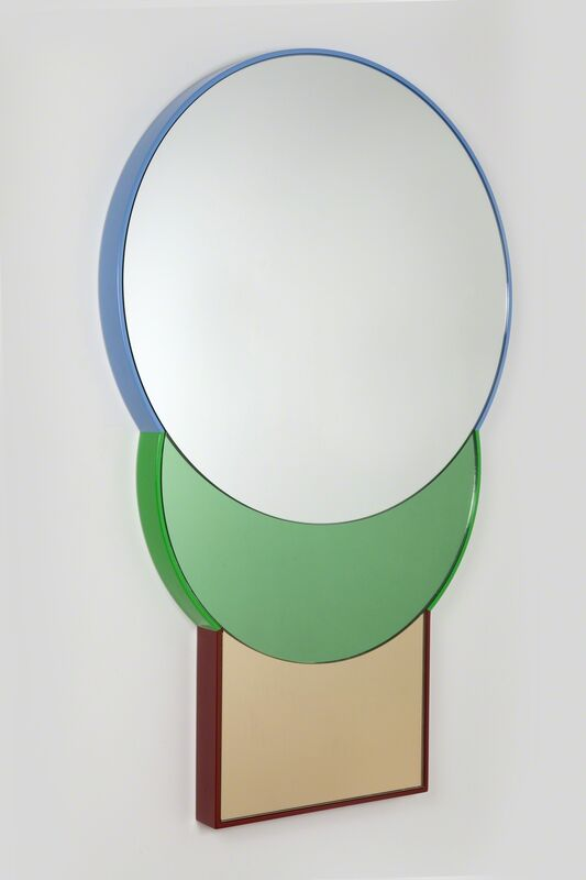 Doshi Levien, 'Squarable Lune Mirror', 2014, Design/Decorative Art, Lacquered wood, tinted mirrors, Galerie kreo