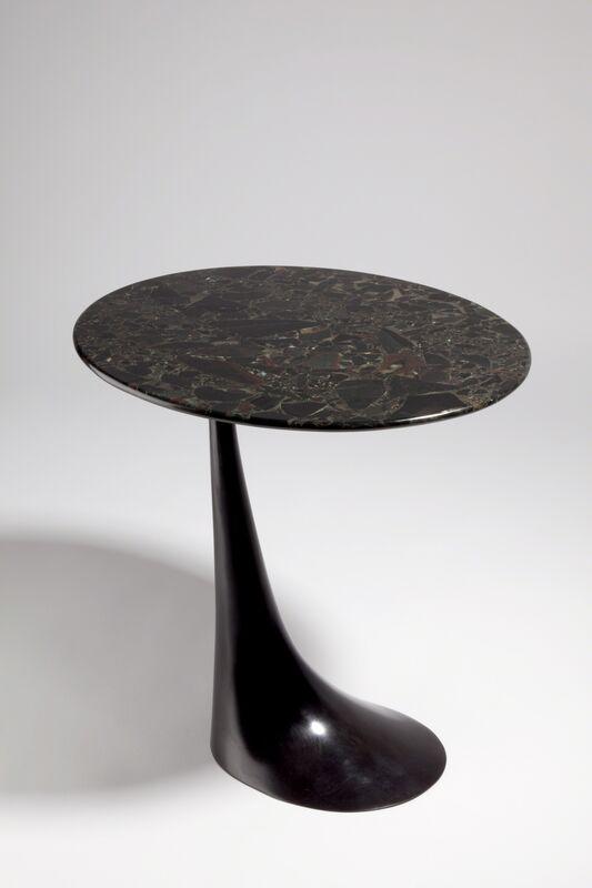 Hervé van der Straeten, 'Guéridon Substance - Side Table', 2006, Design/Decorative Art, Stone,patinated-bronze, Maison Gerard