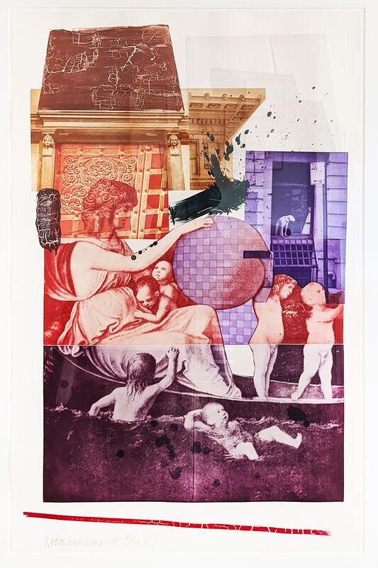 Robert Rauschenberg, 'Bellini II', 1987, Print, Intaglio on Arches paper., Jim Kempner Fine Art