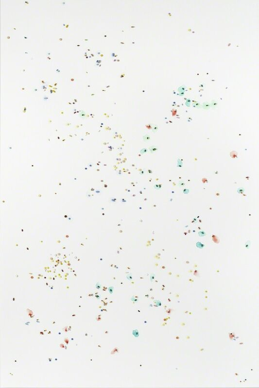 Damien Hirst, 'From Safety to Where', 2008-2009, Mixed Media, Metal, resin and plaster pills and watercolour on canvas, Gagosian