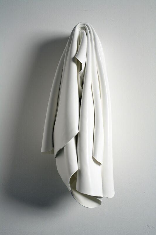 Margie Livingston, 'DRAPED PAINTING #14', 2014, Sculpture, Acrylic paint on wood dowel, Greg Kucera Gallery