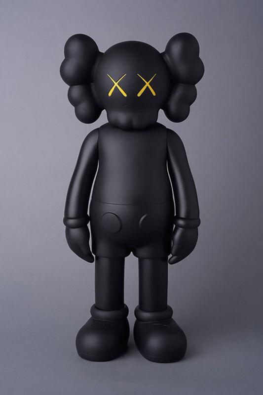 KAWS, 'KAWS Black Companion: Set of 2 (KAWS Companion black flayed)', 2016, Sculpture, Painted vinyl cast resin, Lot 180