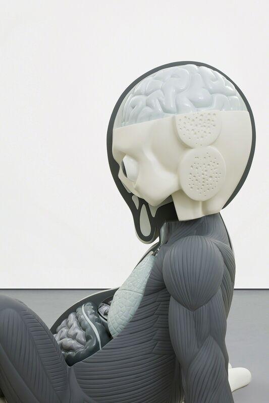 KAWS, 'COMPANION (RESTING PLACE)', 2013, Sculpture, Painted aluminum, Phillips