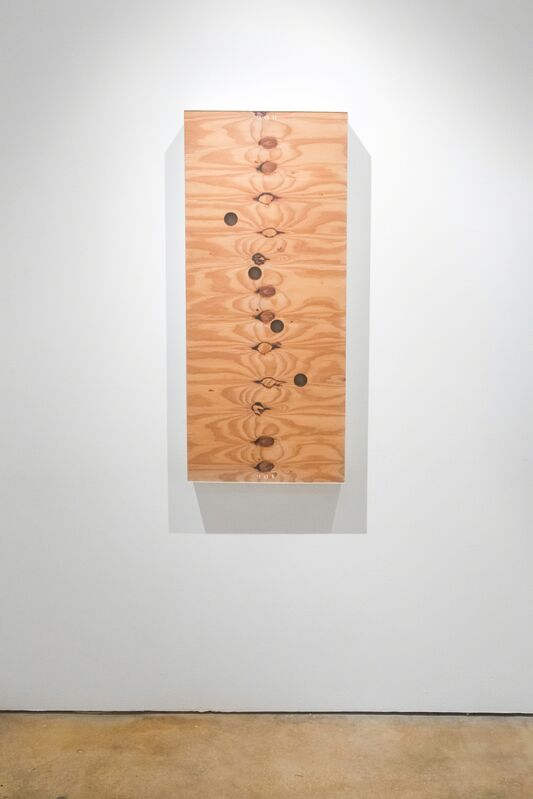 Robert Thiele, 'To 908', 2011, Painting, Acid etched acrylic sheet, wood, laminated canvas, and mixed media, Emerson Dorsch