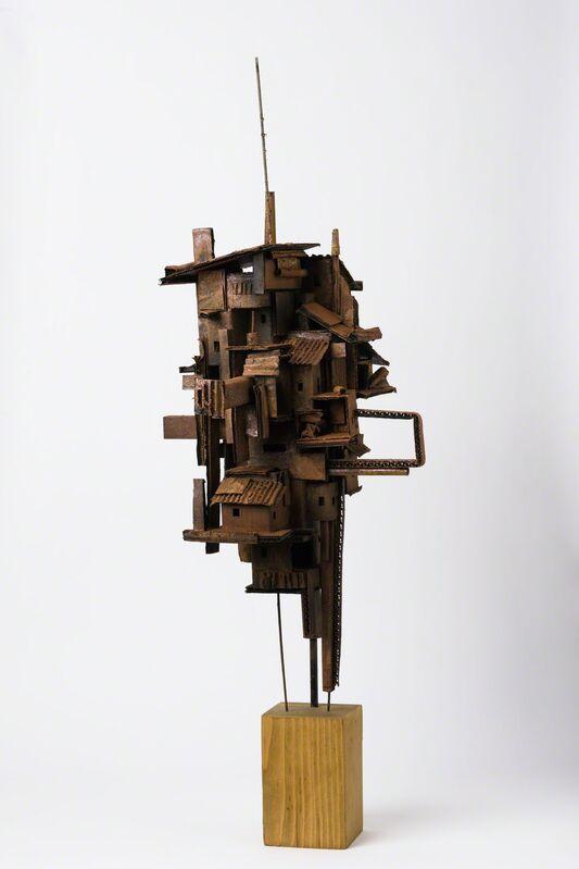 Alfredo and Isabel Aquilizan, 'Dwellings 2', 2014, Sculpture, Paper, Metal, Medium, etc., Art Front Gallery