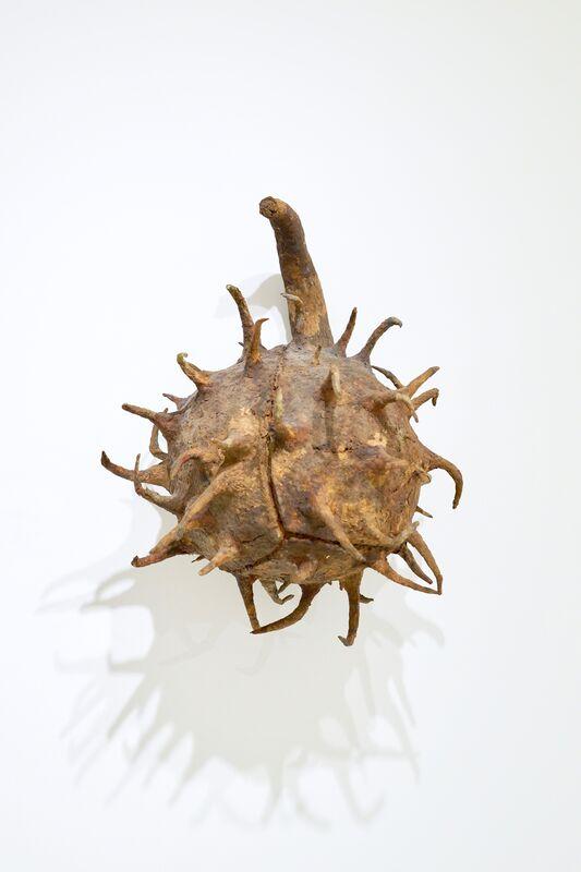 Ming Fay 費明杰, 'Buckeye Seed', 1985, Sculpture, Paper pulp, paint, steel wire, foam, gauze, Sapar Contemporary
