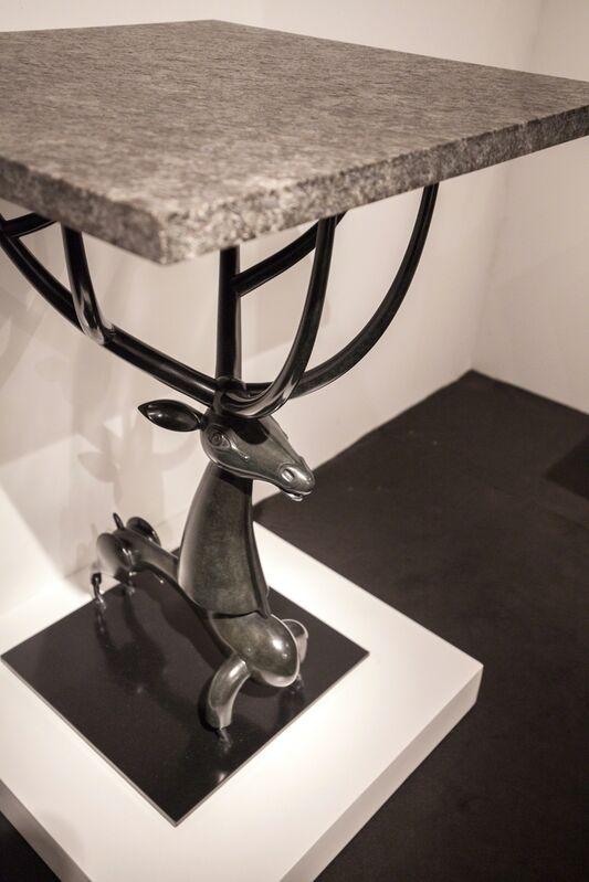 Jean-Marie Fiori, 'Deer Side Table', 2018, Design/Decorative Art, Bronze, Galerie Dumonteil