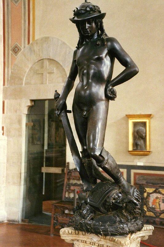 Donatello, 'David', 1428-1432, Sculpture, Bronze, Art History 101