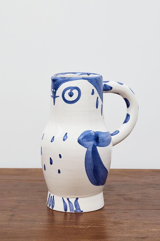 Pablo Picasso, 'Hibou [Owl]', 1954, Design/Decorative Art, Glazed earthenware decorated with oxides, BASTIAN