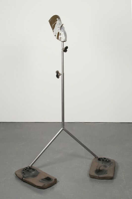 Julia Phillips, 'Regulator', 2014, Sculpture, Partly glazed ceramics, metal stand, metal screws, The Studio Museum in Harlem