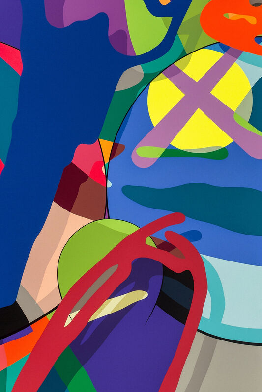 KAWS, 'Tension', 2019, Print, A complete set of ten screenprints in colours on 425gm Saunders Waterford HP hi-white paper, Tate Ward Auctions