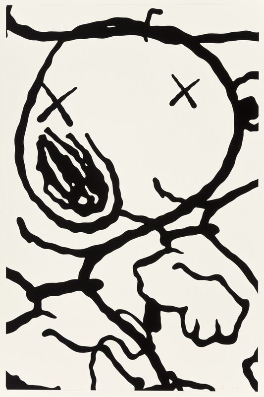 KAWS, 'Untitled from Man's Best Friend', 2016, Print, Screenprint on wove paper, Heritage Auctions