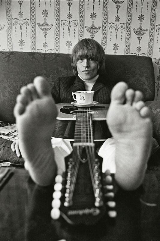 Bent Rej, 'Brian Jones at Home, London, 1965', 1965, Photography, Archival Pigment Print, TASCHEN