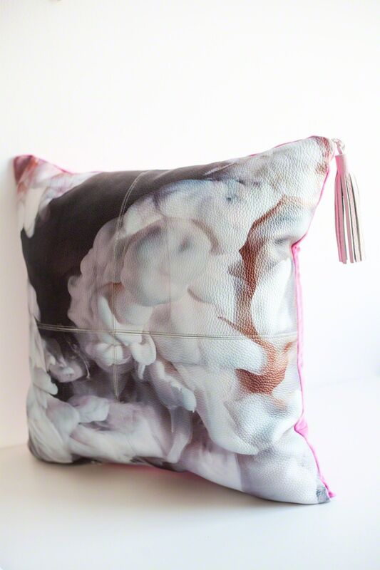 Kim Keever, 'Abstract Leather Pillows', 2016, Design/Decorative Art, Artstar Gallery Auction