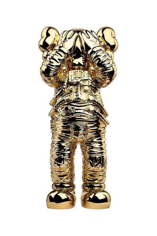 KAWS, 'Holiday Space (Gold)', 2020, Sculpture, Polyurethane, Lougher Contemporary