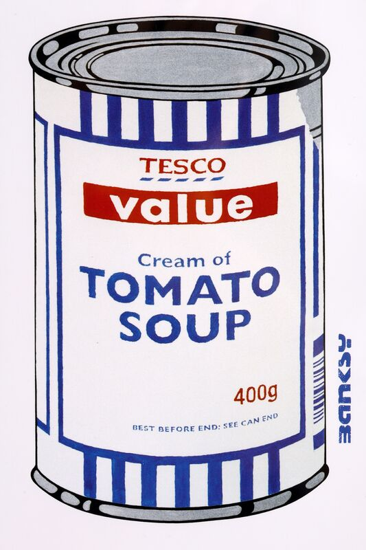 Banksy, 'Soup Cans Poster', Print, Offset lithograph in colours, Chiswick Auctions