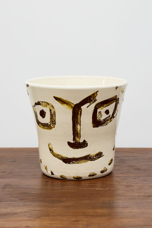 Pablo Picasso, 'Visage Souriant [Smiling Face]', 1956, Other, Painted and glazed ceramic, BASTIAN
