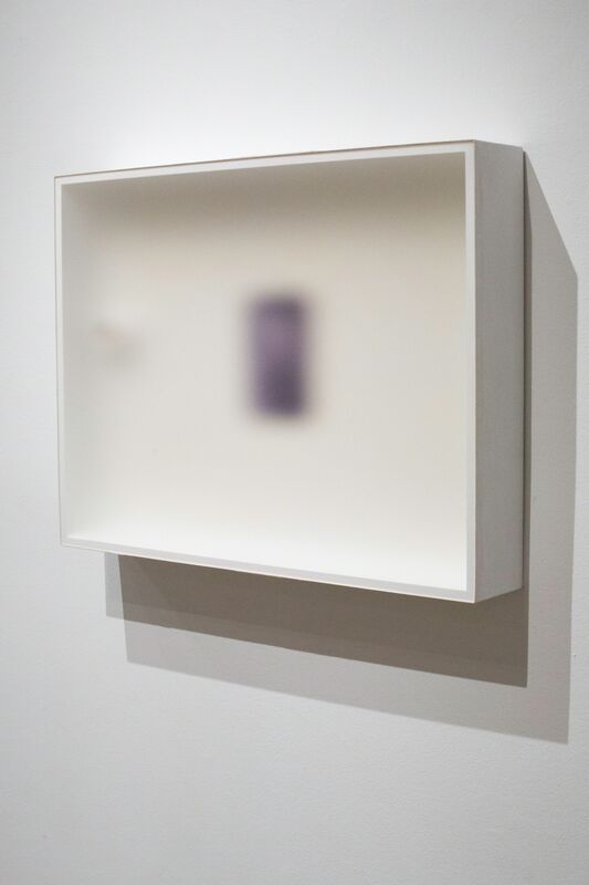 Robert Thiele, 'Mid Three (To 983)', 2011, Painting, Acid etched acrylic sheet, wood, laminated canvas, and mixed media, Emerson Dorsch