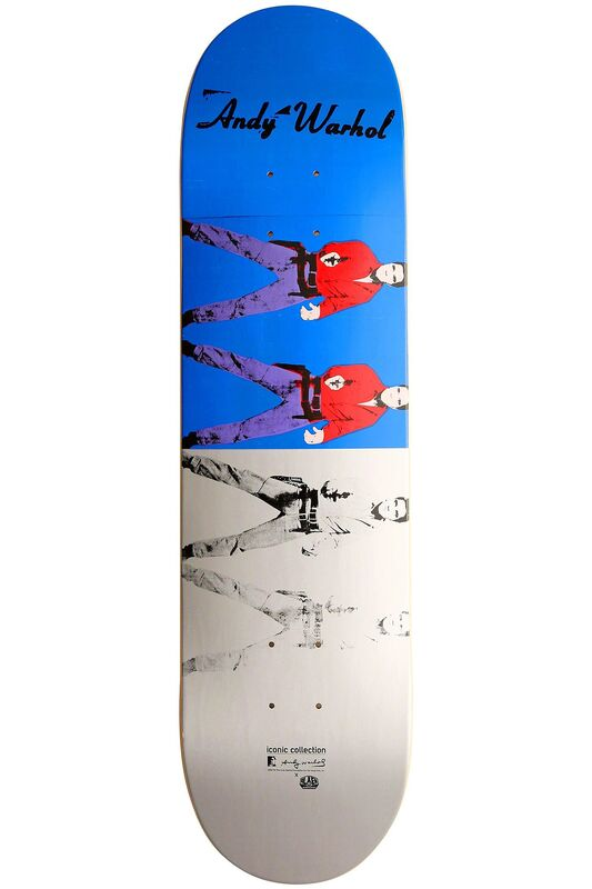 Andy Warhol, 'Warhol Elvis Skateboard Deck ', 2012, Ephemera or Merchandise, Silkscreen on maple wood skate deck, Lot 180