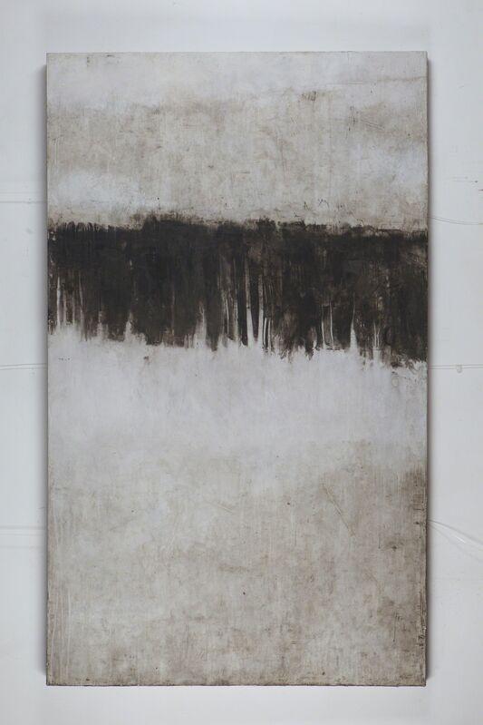 Giulio Camagni, '#4', 2016, Painting, Ashes, pigments and acrylic medium on canvas, Ditesheim & Maffei Fine Art