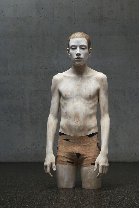 Bruno Walpoth, 'L'altro', 2012, Sculpture, Wood, Accesso Galleria