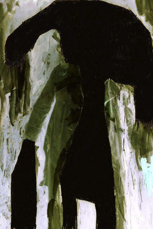 Thibault Hazelzet, 'Autoportrait recyclé #1', 2011, Photography, Ilfoflex under diasec, Galerie Christophe Gaillard