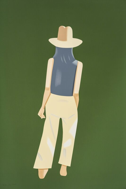 Alex Katz, 'Departure (Ada)', 2017, Print, 22-color silkscreen on Saunders Waterford 425 gsm paper, William Campbell Contemporary Art Inc