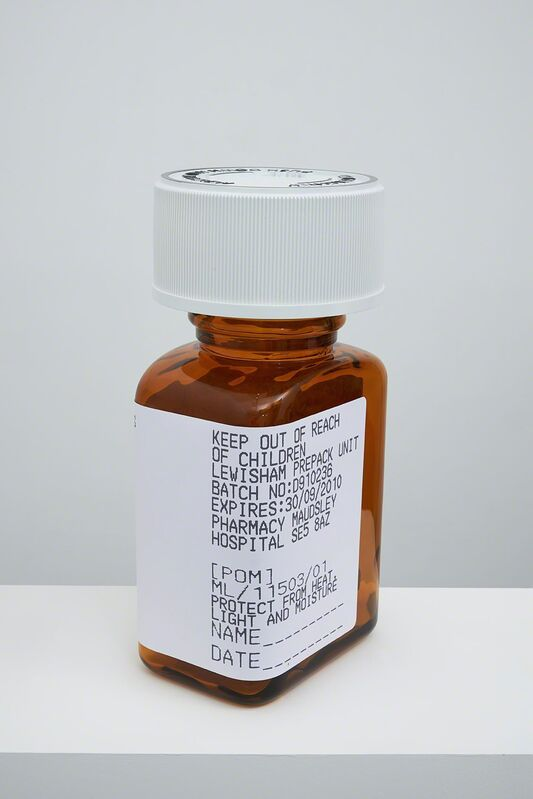 Damien Hirst, 'Chlordiazepoxide 5mg 24 capsules', 2014, Sculpture, Polyurethane resin with Tri pigments for colour.Numbered, signed and dated in the cast., Paul Stolper Gallery