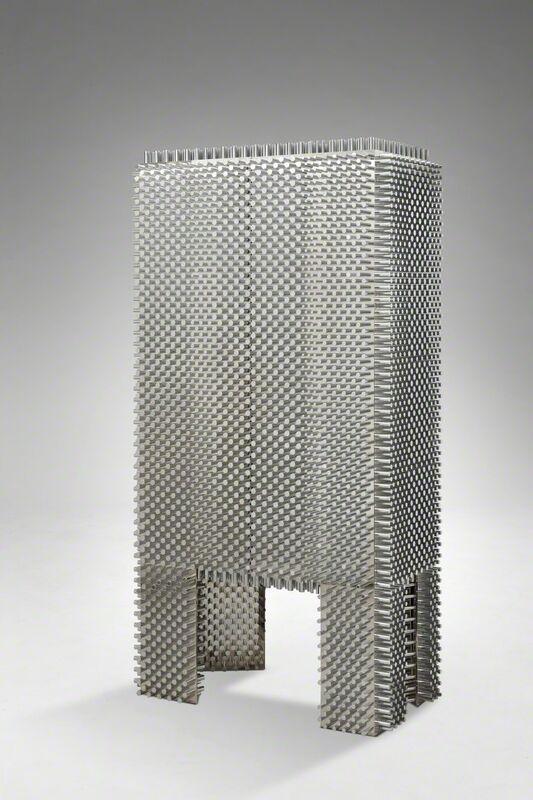 Mattia Bonetti, 'Cabinet 'Fakir'', 2004, Design/Decorative Art, Stainless steel, nickel plated aluminium, David Gill Gallery