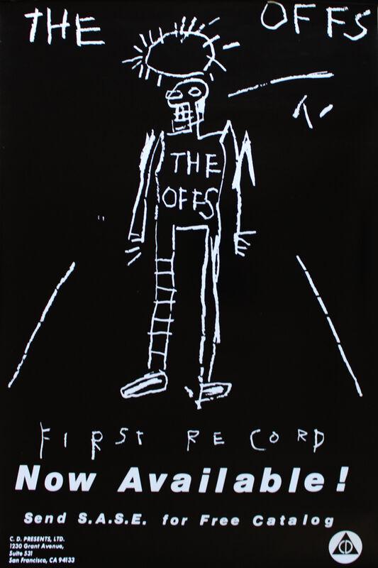 Jean-Michel Basquiat, 'The Offs poster', 1984, Ephemera or Merchandise, Offset lithograph, EHC Fine Art