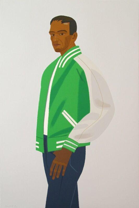 Alex Katz, 'Green Jacket (from Alex & Ada portfolio)', 1990, Print, Screen-print, Kunzt Gallery