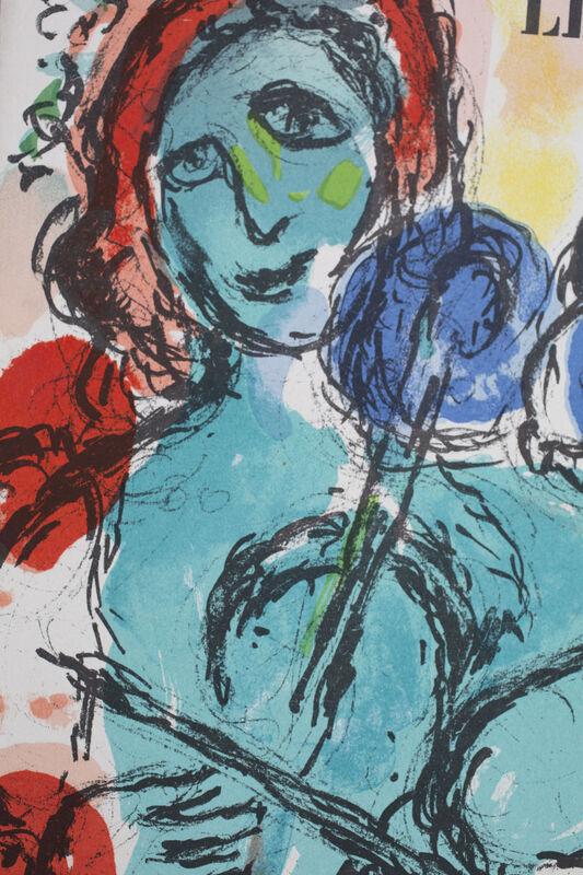Marc Chagall, 'Chagall - Derrière le Miroir, n° 198', 1972, Ephemera or Merchandise, Lithograph, Cahiers d'Art