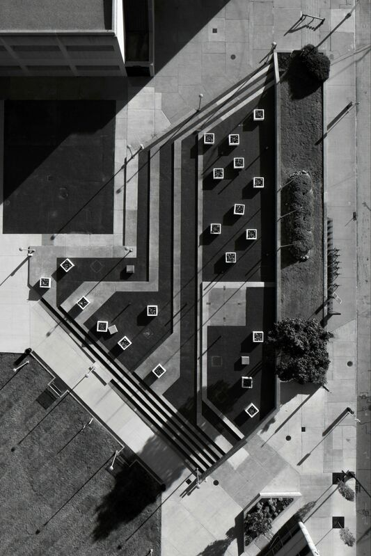 Brian Day, 'Campus area, Wayne County Community College', 2017, Photography, Piezography Pro Print on Canson Baryta  Photographique Paper, M Contemporary Art