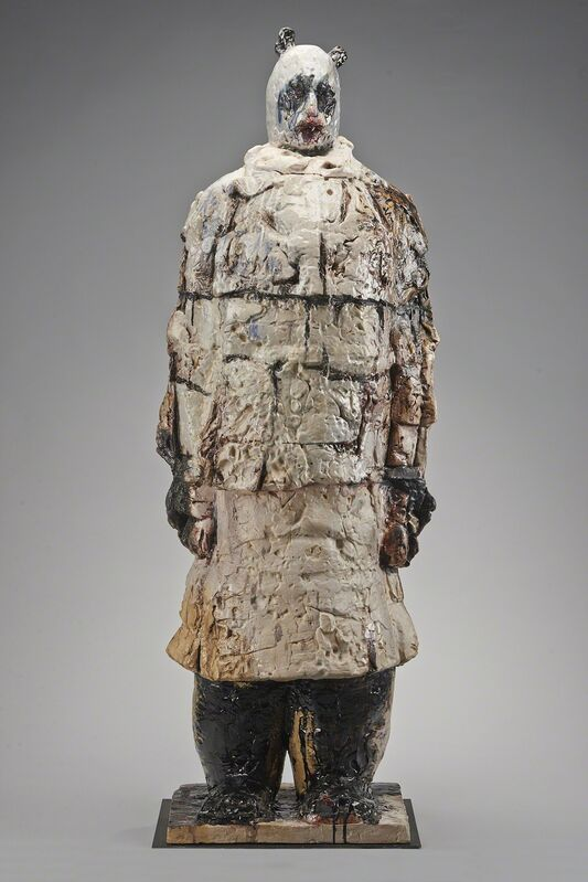 Wanxin Zhang, 'Special Ambassador', 2011, Sculpture, High-fired clay with glaze, Catharine Clark Gallery