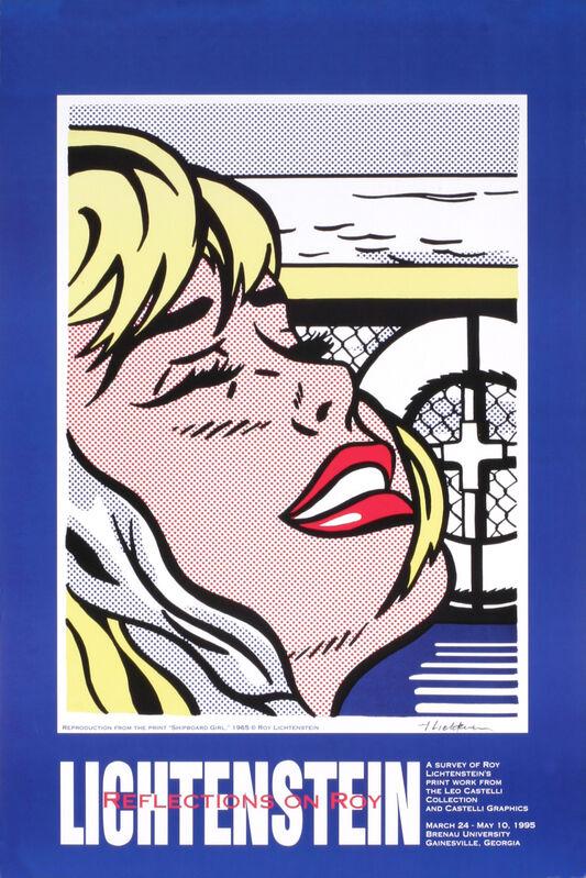 Roy Lichtenstein, 'Shipboard Girl', 1995, Ephemera or Merchandise, Offset Lithograph, ArtWise