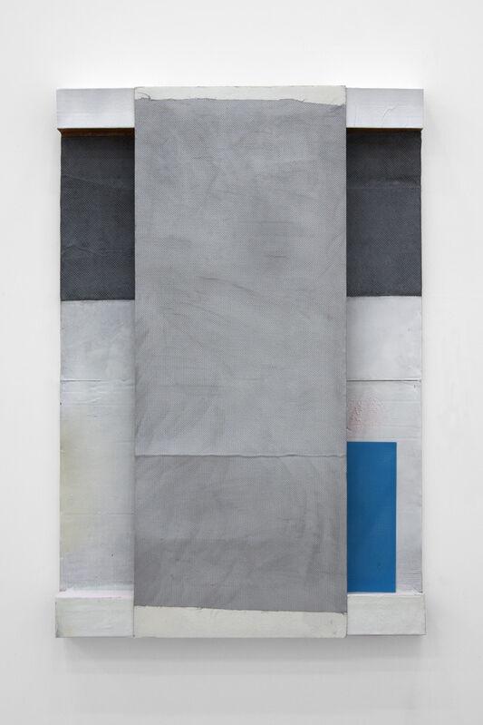 Thomas Kratz, 'ER°3', 2014, Mixed Media, (Relief) Resin and cardboard on stretcher, Collicaligreggi