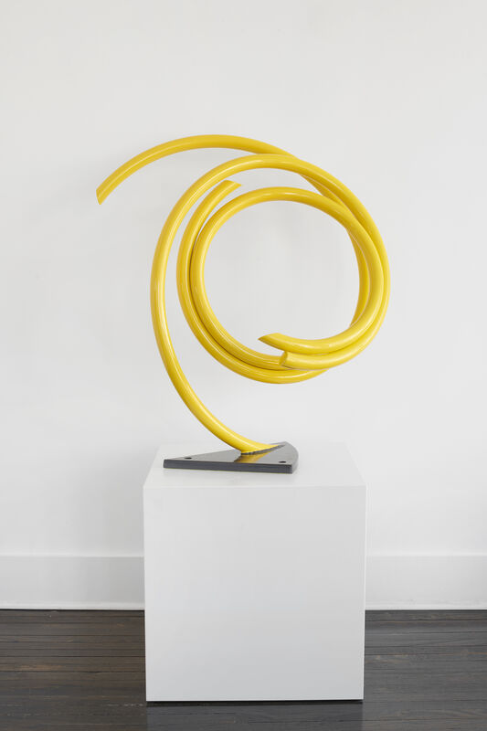 John Clement, 'Dune Sunflower', 2017, Sculpture, Steel pipe, high-performance auto paint, Heather Gaudio Fine Art