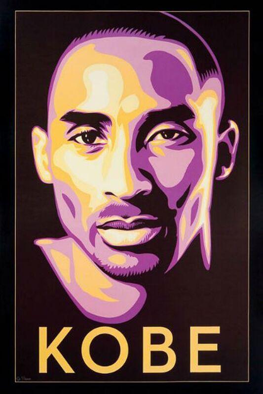 Shepard Fairey, 'Kobe', 2008, Print, Screenprint, EHC Fine Art Gallery Auction