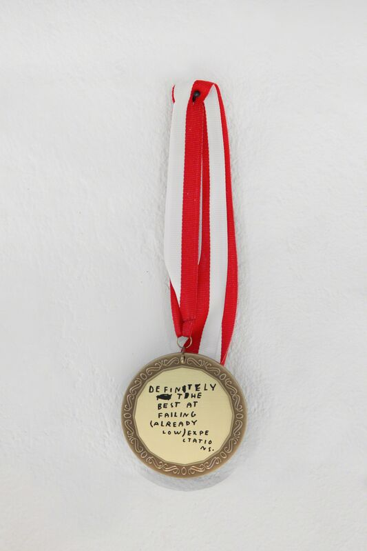 Wasted Rita, 'Wall of Shame #6', 2015, Mixed Media, Laser-engraved medal, Underdogs Gallery